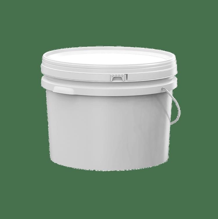 10 litre plastic pail elite back