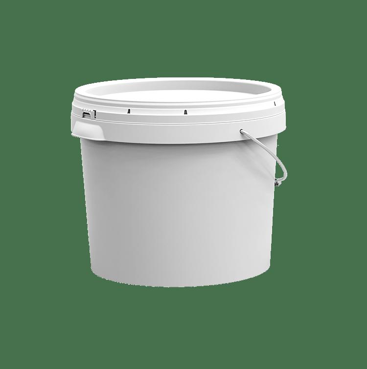 10 litre plastic pail sleek