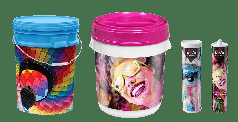 Plastic packaging bulk Printed In Mould